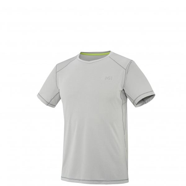Men MILLET ALPINE TS SS GREY Outlet Store
