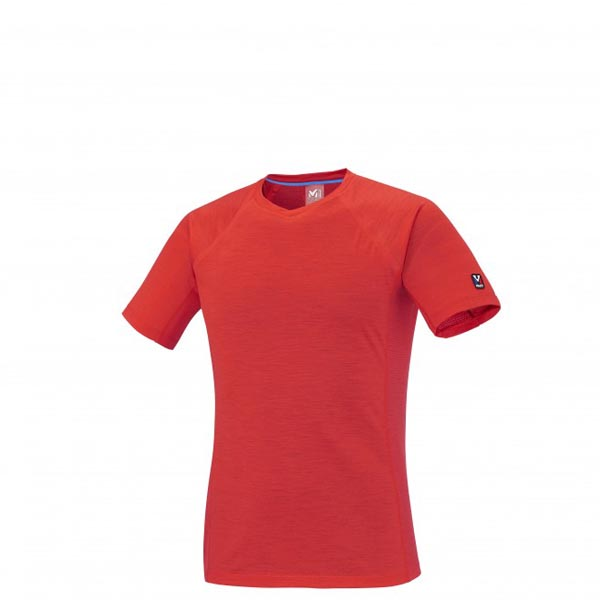 Men MILLET TRILOGY WOOL TS SS RED Outlet Store