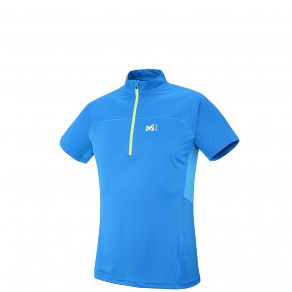 Men MILLET LTK INTENSE ZIP SS BLUE Outlet Store