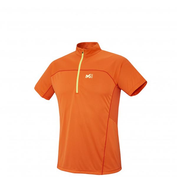MILLET trail running - Men\'s Jacket - Orange On Sale