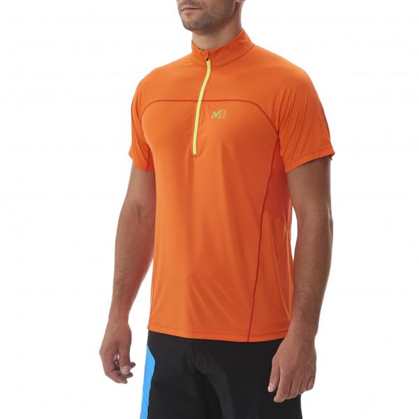 Cheap MILLET LTK INTENSE ZIP SS Men ORANGE Online