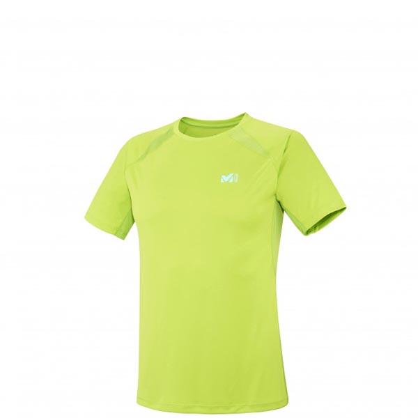 MILLET trail running - Men\'s T-shirt - Green On Sale