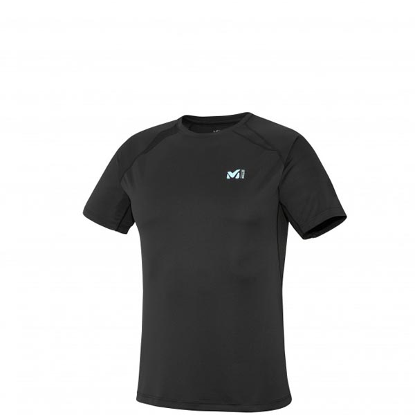MILLET TRAIL RUNNING - MEN'S T-SHIRT - BLACK On Sale
