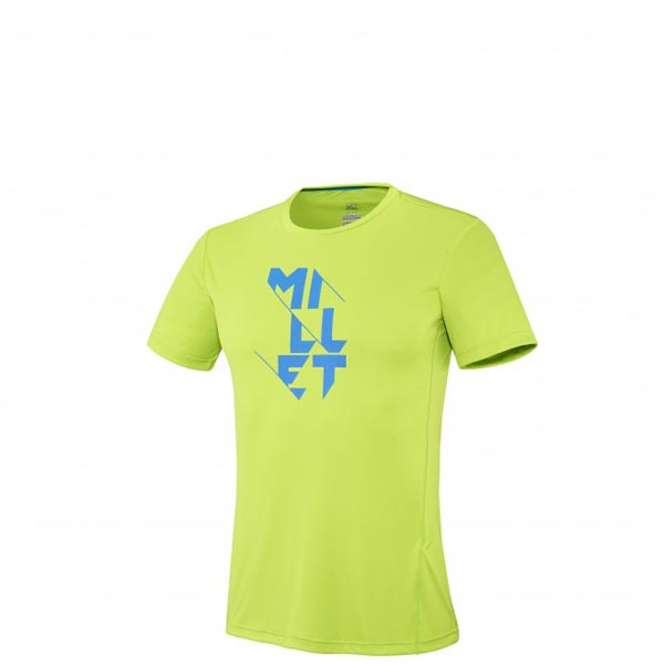 Men MILLET LTK TS SS GREEN Outlet Store