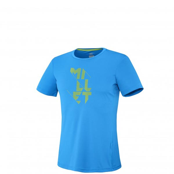 Men MILLET LTK TS SS BLUE Outlet Store