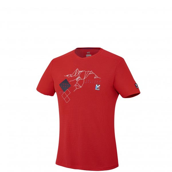 Men MILLET TRILOGY SUMMITS TS SS RED Outlet Store