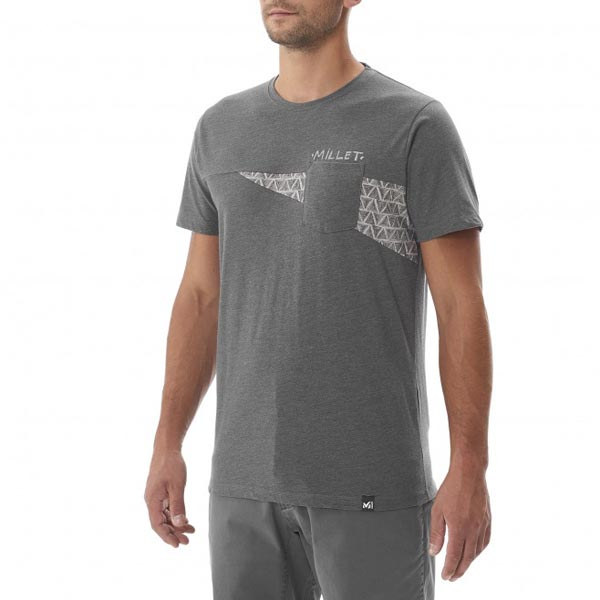 Men MILLET CROSS ROAD TS SS GREY Outlet Store