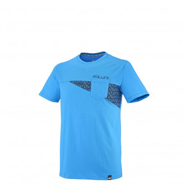 Men MILLET CROSS ROAD TS SS BLUE Outlet Store