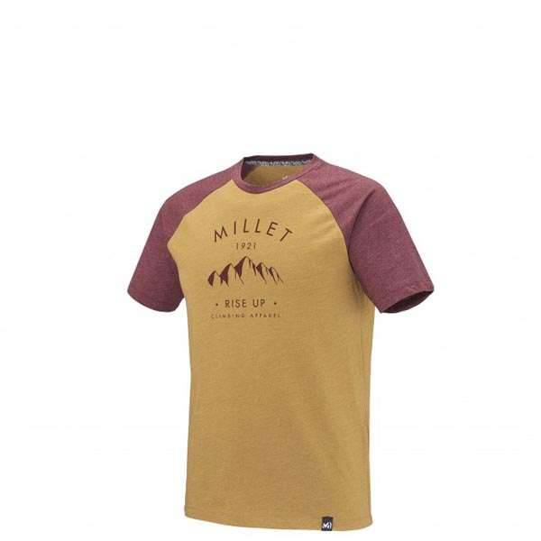 MILLET CLIMBING - MEN'S T-SHIRT - CAMEL On Sale