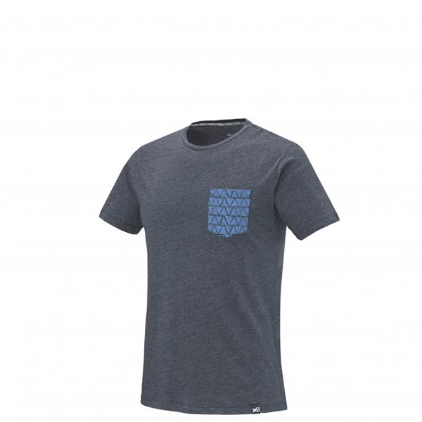 Men MILLET CAMP CATTA TS SS BLUE Outlet Store