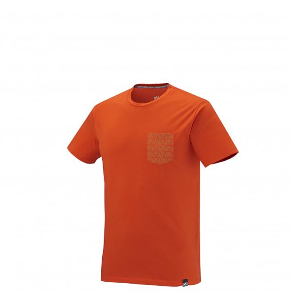 MILLET CLIMBING - MEN'S T-SHIRT - ORANGE On Sale
