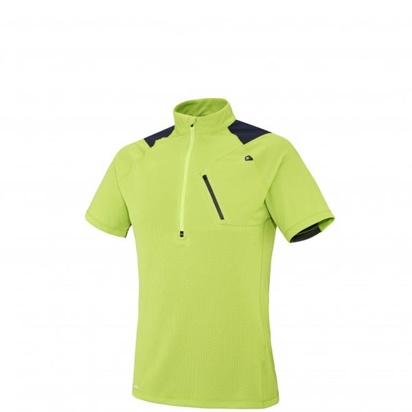 Men MILLET RED NEEDLES ZIP SS GREEN Outlet Store