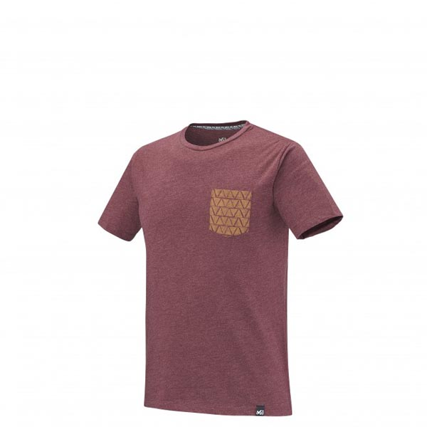 Men MILLET CAMP CATTA TS SS Brown Outlet Store