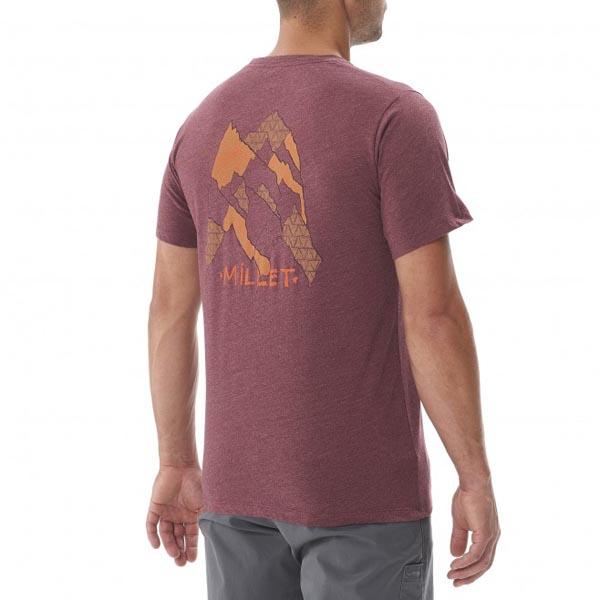MILLET Climbing - Men\'s T-shirt - Brown On Sale