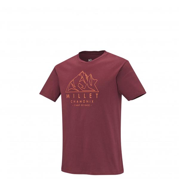 Men MILLET MILLET AIGUILLES TS SS RED Outlet Store