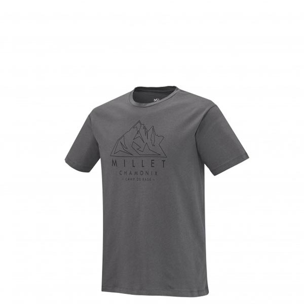 Men MILLET MILLET AIGUILLES TS SS GREY Outlet Store