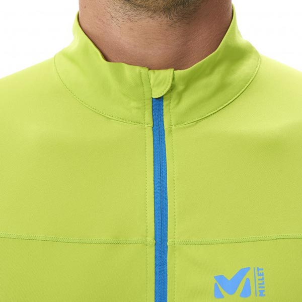 Cheap MILLET LTK INTENSE ZIP LS Men GREEN Online