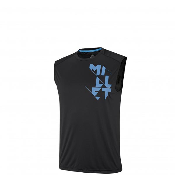Men MILLET LTK INTENSE TANK BLACK Outlet Store