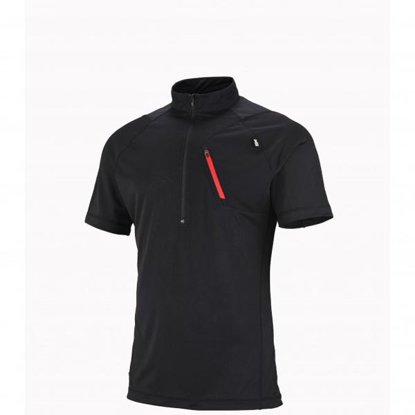 MILLET BLACK MOUNTAINEERING TEE-SHIRT FOR MEN On Sale