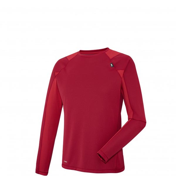 Men MILLET RED NEEDLES TS LS RED Outlet Store