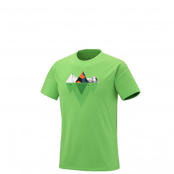 Men MILLET ROCKIES TS SS GREEN Outlet Store
