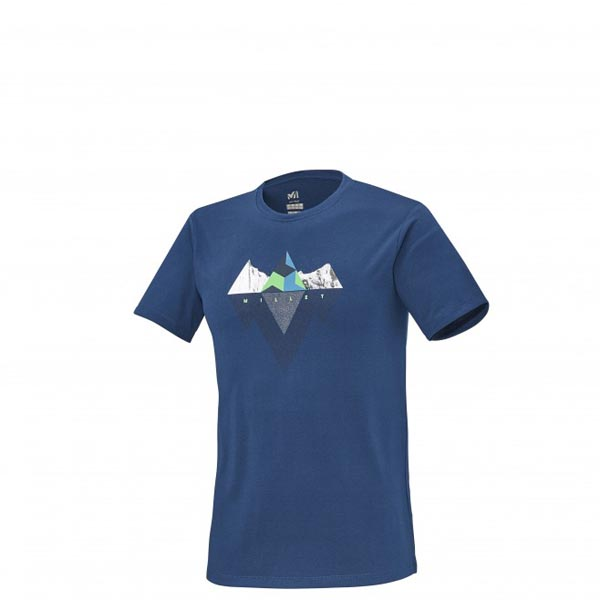 MILLET TREKKING - MEN'S T-SHIRT - BLUE On Sale