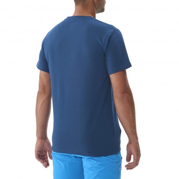 Men MILLET ROCKIES TS SS BLUE Outlet Store