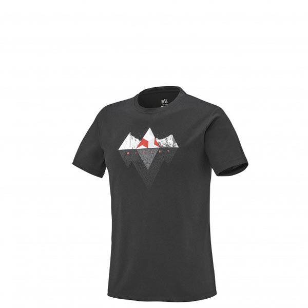 Men MILLET ROCKIES TS SS BLACK Outlet Store