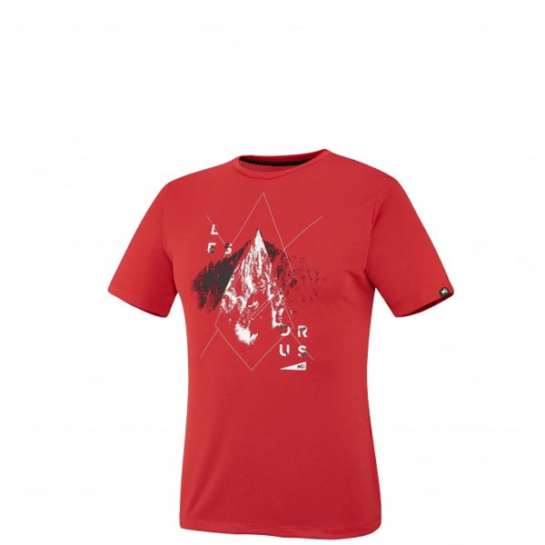MILLET Men LES DRUS TS SS RED Outlet Online