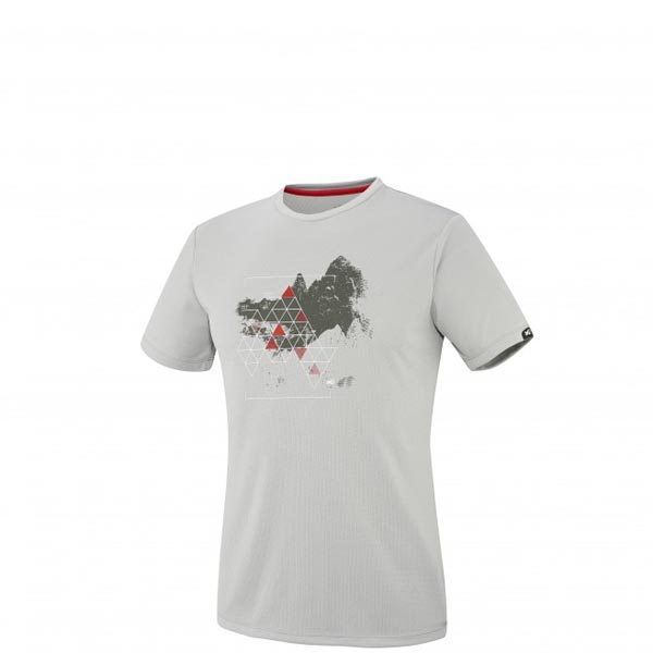 Men MILLET BACKAROUND TS SS GREY Outlet Store