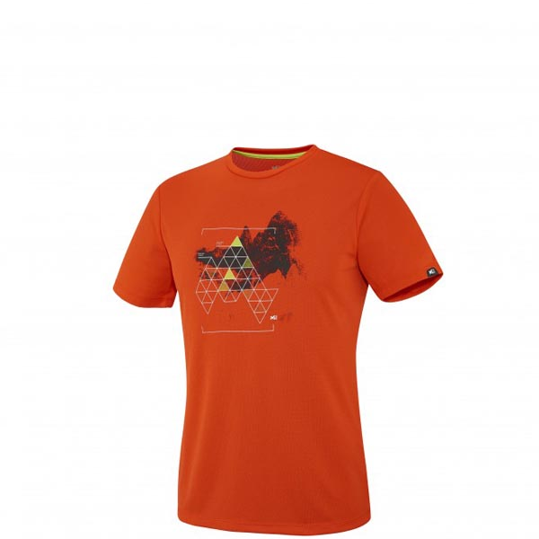 MILLET Mountaineering - Men\'s T-shirt - Orange On Sale