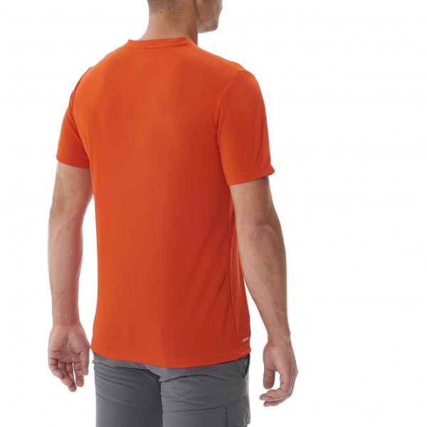Men MILLET BACKAROUND TS SS ORANGE Outlet Store
