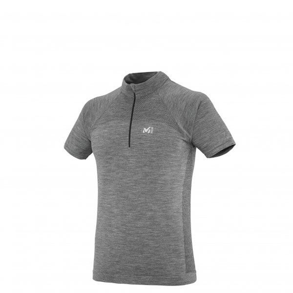 MILLET TREKKING - MEN'S T-SHIRT - GREY On Sale