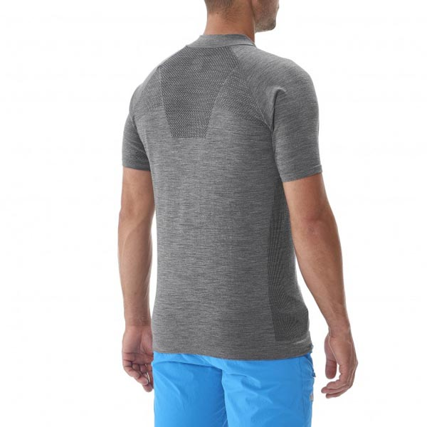 MILLET TREKKING - MEN\'S T-SHIRT - GREY On Sale