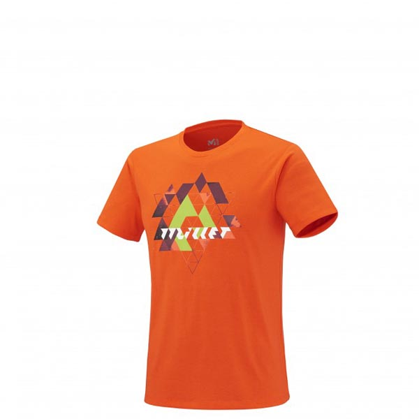 Men MILLET WYOMING TS SS ORANGE Outlet Store
