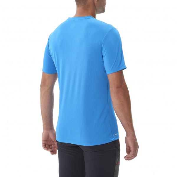 Men MILLET MISSION TS SS BLUE Outlet Store
