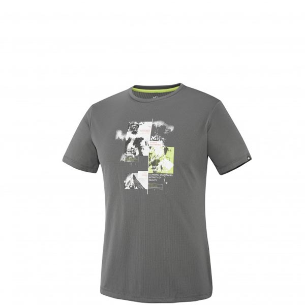 MILLET MOUNTAINEERING - MEN'S T-SHIRT - GREY On Sale