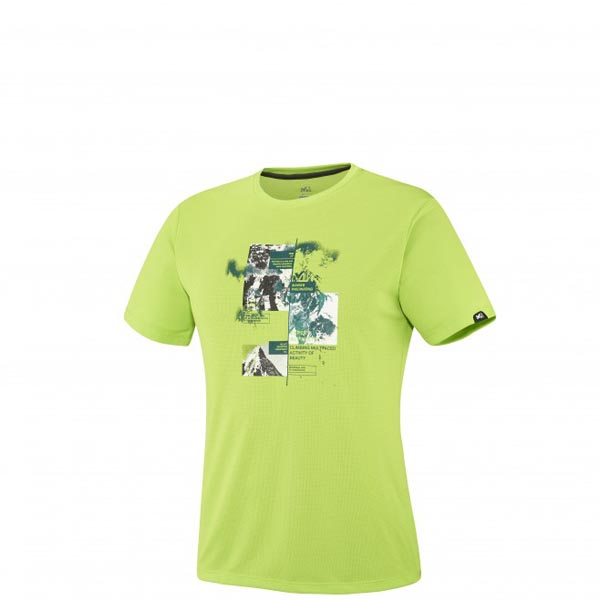 Men MILLET MISSION TS SS GREEN Outlet Store