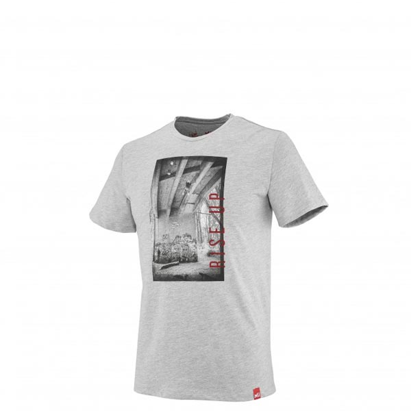 Men MILLET MILLET URBAN M LIMITED TS SS GREY Outlet Store