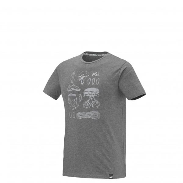 MILLET Climbing - Men's T-shirt - Grey On Sale