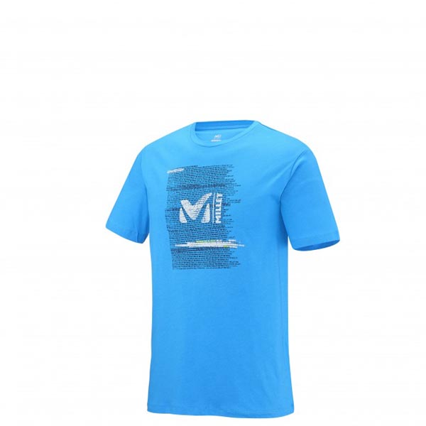 MILLET Climbing - Men's T-shirt - Blue On Sale