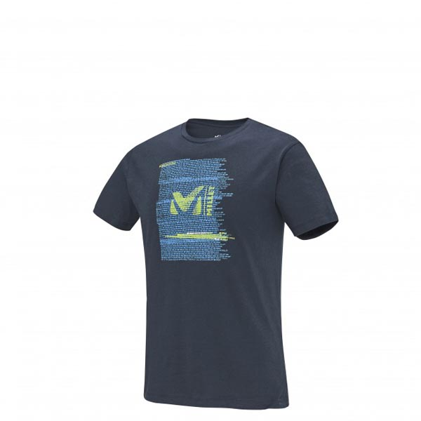 Men MILLET MILLET BE BOLD TS SS BLUE Outlet Store
