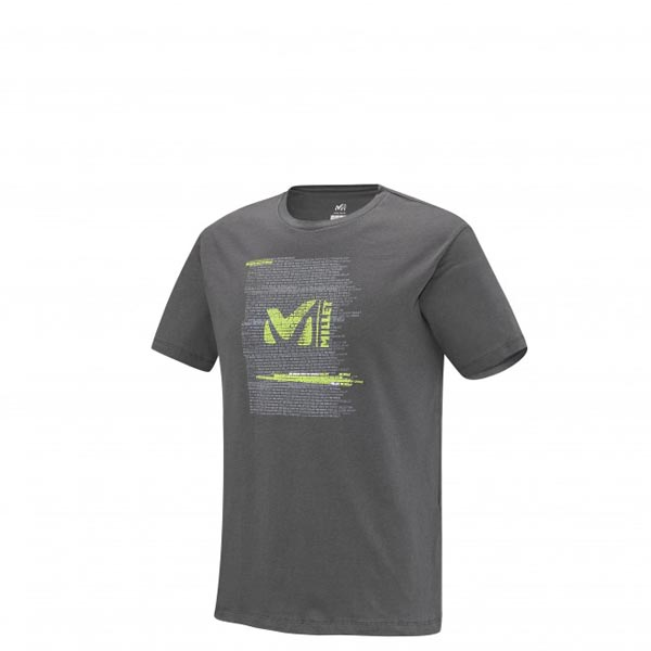 Men MILLET MILLET BE BOLD TS SS GREY Outlet Store