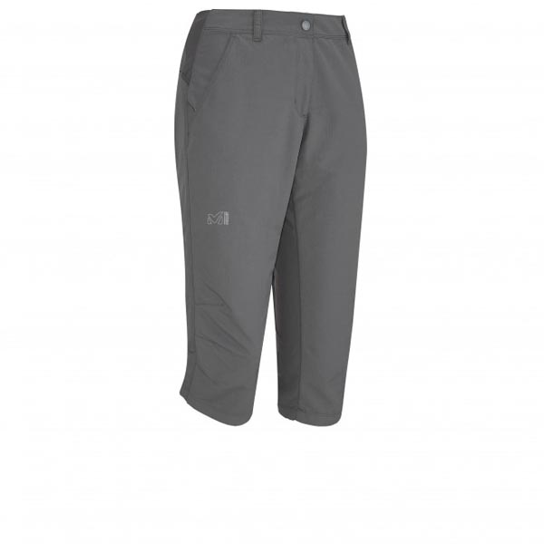 Women MILLET LD MOUNT CLEVELAND 3/4 PANT GREY Outlet Store