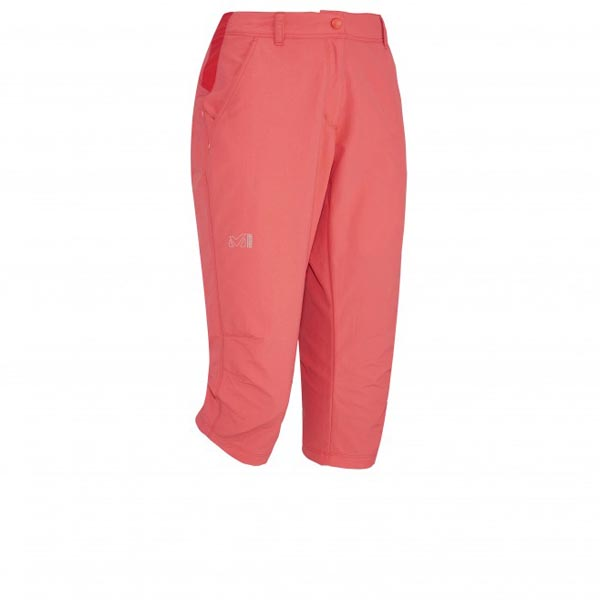 MILLET TREKKING - WOMEN'S 3/4 PANT - RED On Sale
