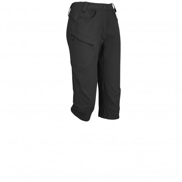 Women MILLET LD TREKKER STRETCH 3/7 PANT black Outlet Store