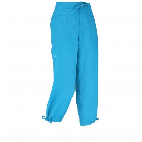 Women MILLET LD ROCK HEMP 3/4 PANT Turquoise Outlet Store