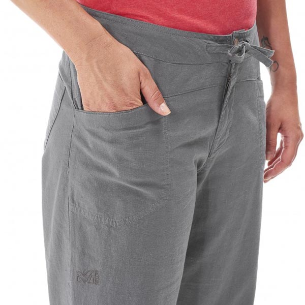 MILLET Women LD ROCK HEMP 3/4 PANT GREY Outlet Online