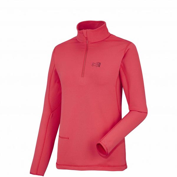 MILLET women\'s red trekking fleece On Sale