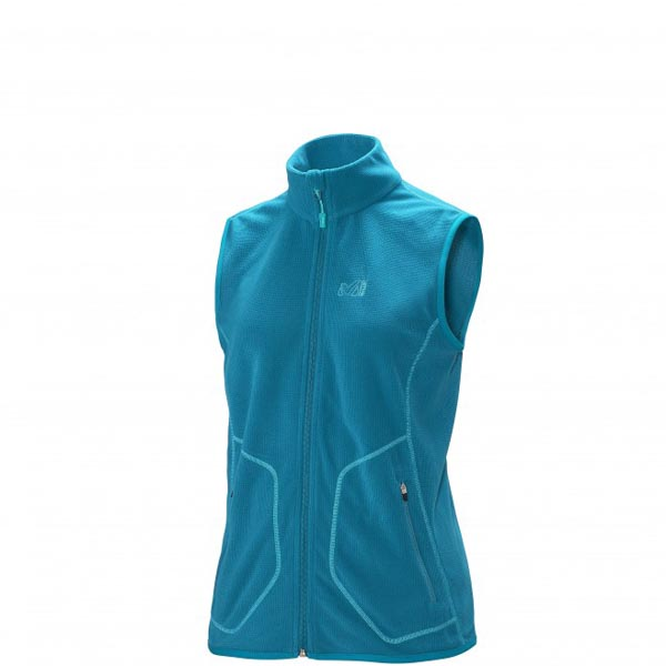 MILLET TREKKING - WOMEN'S FLEECE JACKET - TURQUOISE On Sale